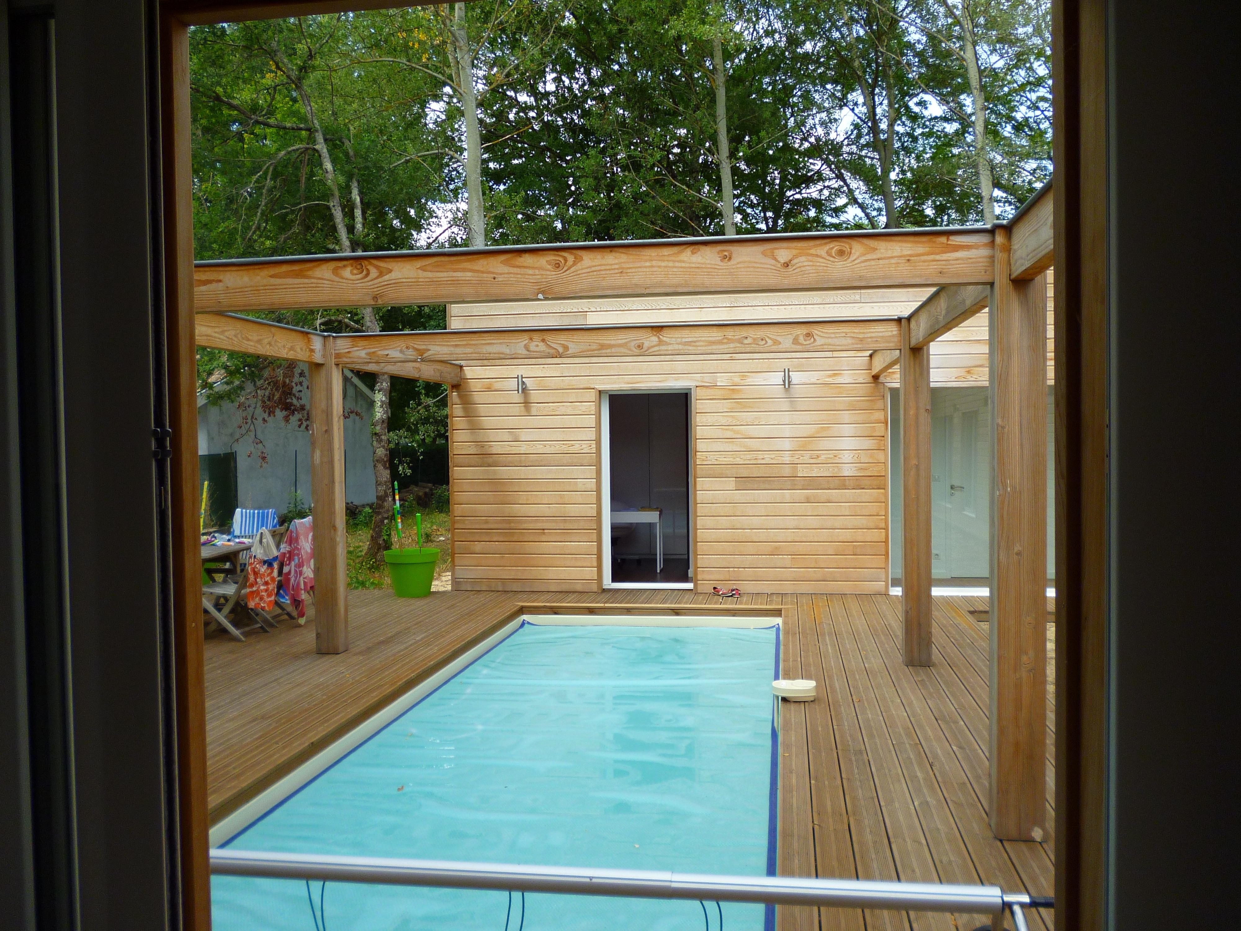 Maison bois bbc taillan m doc archives pascal rigaud architecte dplgpasca - Couloir de nage interieur ...