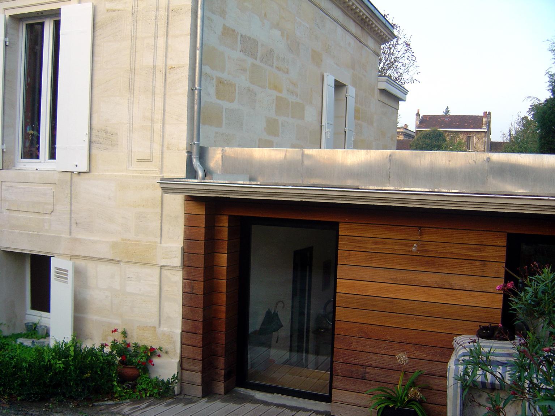 r novation extension chartreuse en pierre bordeaux pascal rigaud architecte dplgpascal. Black Bedroom Furniture Sets. Home Design Ideas